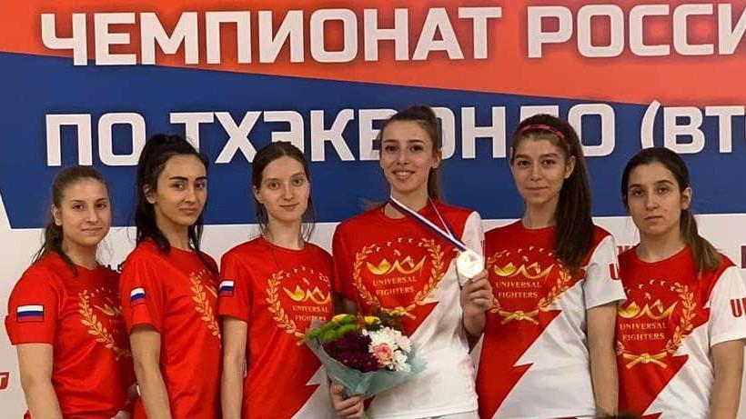 Подмосковные спортсмены завоевали три медали на чемпионате России по тхэквондо