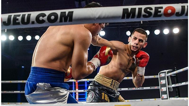 Подмосковный боксер одержал победу на турнире в Канаде