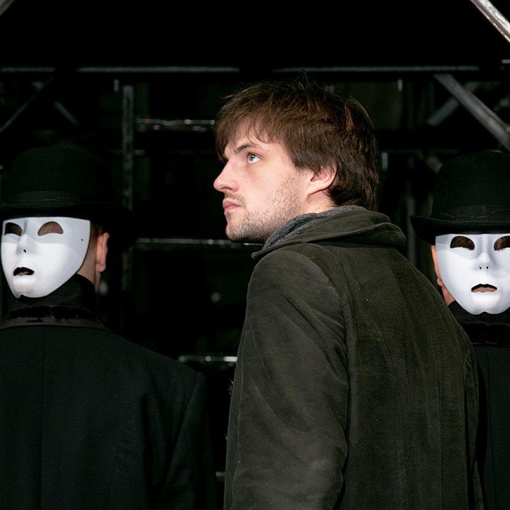 Пресс-показ спектакля «Убивец» в театре «У Никитских ворот»