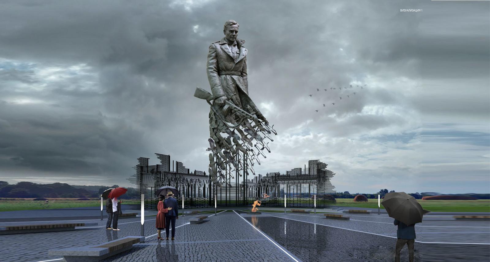 Пресс-тур в литейный цех (г. Солнечногорск), где завершается отливка бронзовой фигуры солдата для Ржевского мемориала