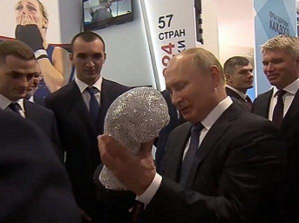 Путин рассказал, как ему сломали нос