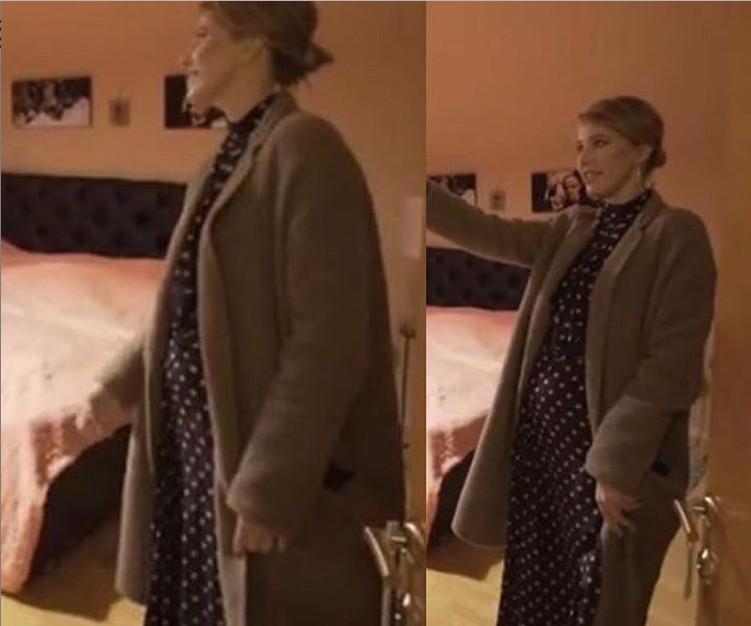 """""""Растет пузан"""": Собчак засветила беременный живот в спальне Гуфа (ФОТО)"""