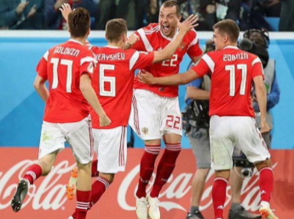 Россия разгромила Шотландию в квалификационом матче ЧЕ-2020