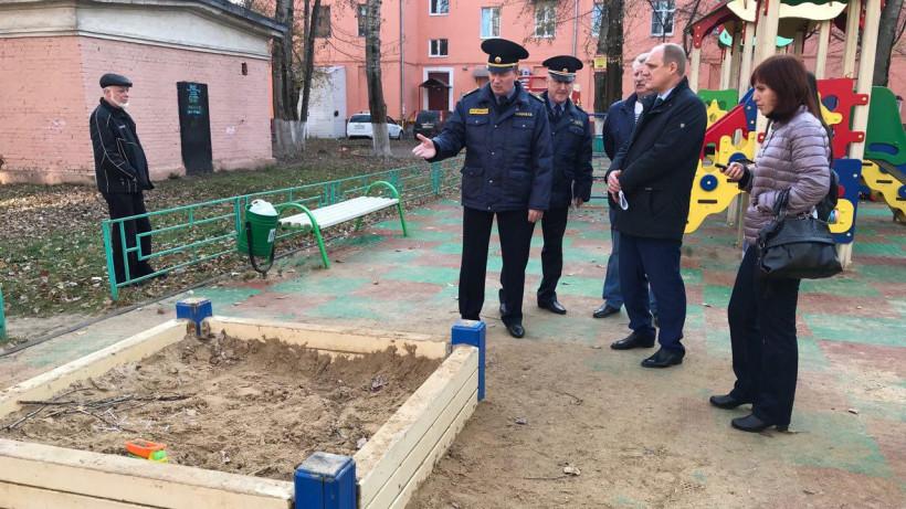 Руководитель Госадмтехнадзора проинспектировал Подольск