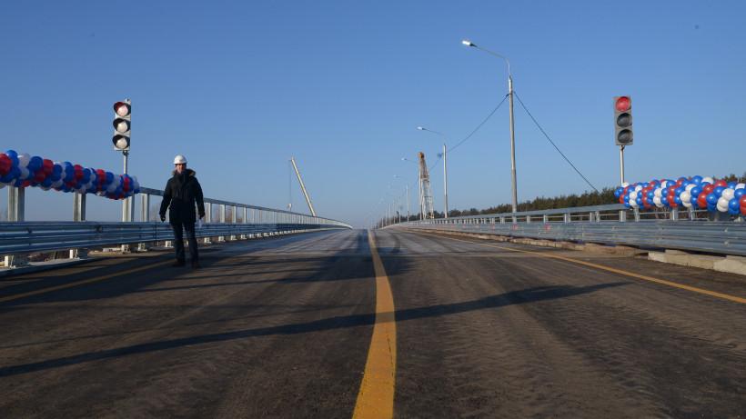Схему движения изменили на 72-м километре Егорьевского шоссе из-за ремонта путепровода