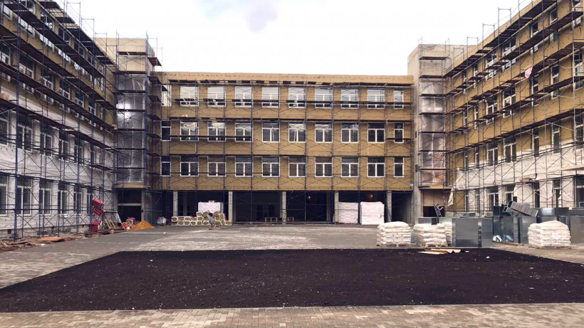 Школу в микрорайоне Климовск Подольска построят до конца года