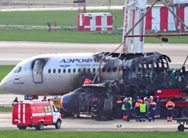 СКР обвинил пилота SSJ-100 в катастрофе в Шереметьеве