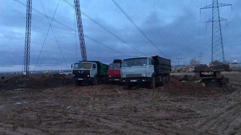 Сотрудники Минэкологии задержали организаторов незаконной свалки в Раменском