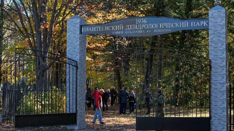 Сотрудники «Мособлэнерго» приняли участие в субботнике в Ивантеевском дендропарке