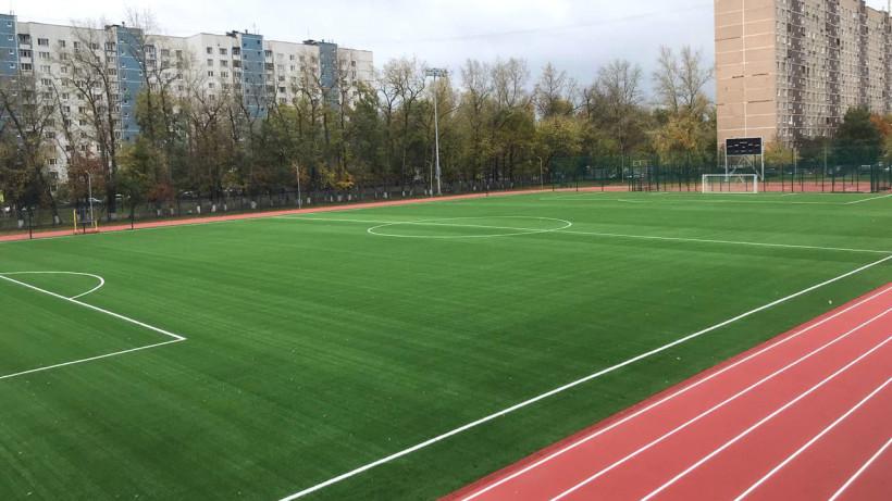 Стадион в Красногорске введут в эксплуатацию до конца месяца