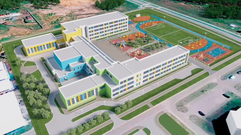 Строительство 8 новых образовательных учреждений стартовало в Подмосковье с начала октября