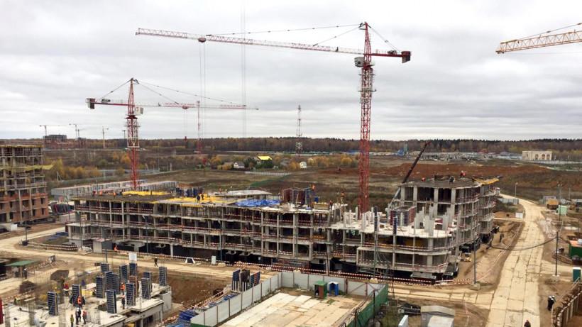 Строительство домов ЖК «Лайково» в Одинцове ведется в соответствии с утвержденным графиком