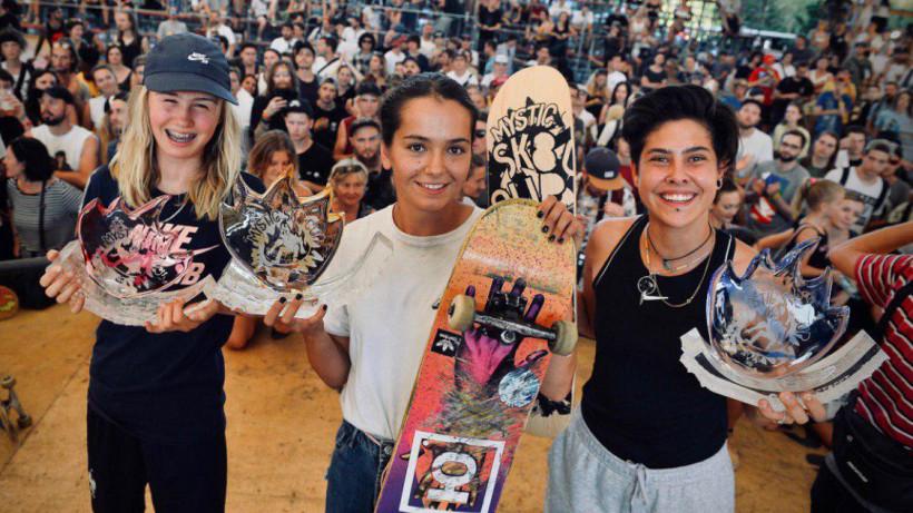 Три подмосковных скейтбордиста выступят на чемпионате Европы