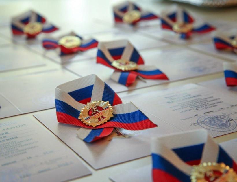 В 2019 году в Подмосковье выдано более 40 тысяч знаков отличия ГТО