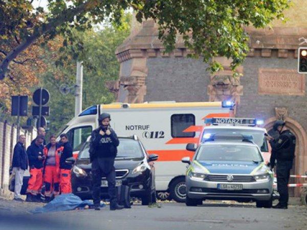 В Германии неизвестные открыли стрельбу у синагоги и кафе: есть погибшие