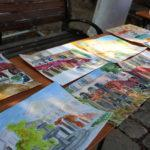 В Херсонесе прошли мастер-классы для самых юных художников