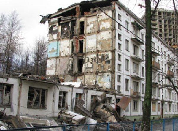 В Москве началось принудительное выселение из хрущевок по программе реновации