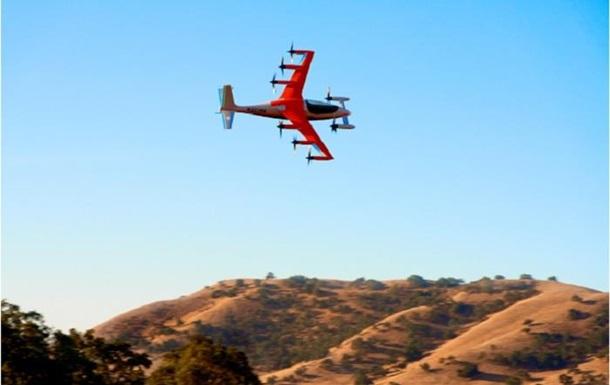 В США создан электросамолет с вертикальным взлетом
