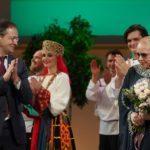 Владимир Мединский поздравил Александру Пермякову с юбилеем