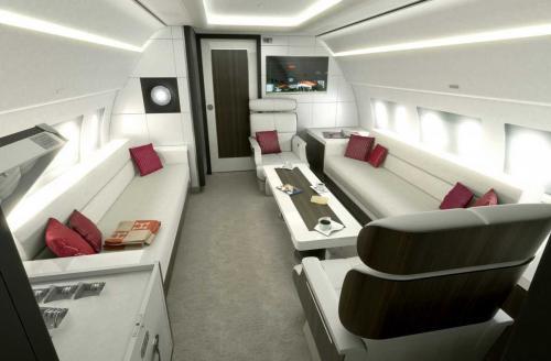 Airbus ACJ319 Airbus является одним из ведущих производителей частных самолетов и располагает различными моделями роскошных личных лайнеров стоимостью от 72 до 110 млн долларов в зависимости от размера.