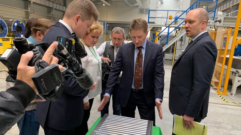 Завод германо-швейцарской компании Kermi заработал в Ступине