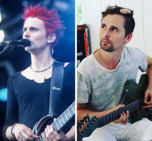 """13 фото из серии """"было-стало"""": как изменились западные рок-звезды"""