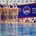 7 зарубежных команд примут участие в соревнованиях синхронисток «Русская матрешка» в Чехове