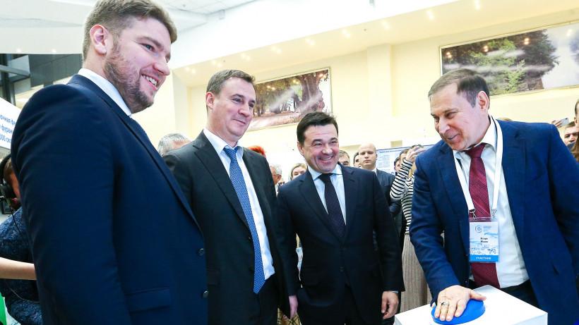 Андрей Воробьев и Дмитрий Патрушев открыли VI Международный агропромышленный форум