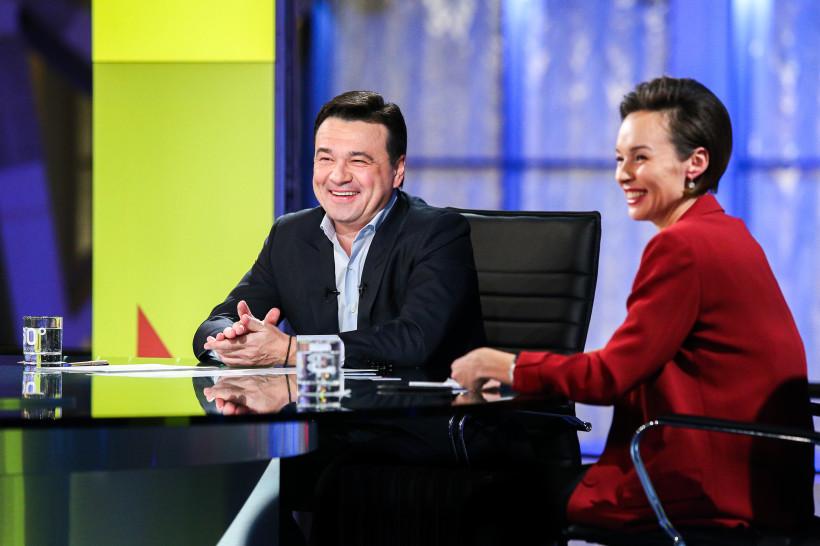 Андрей Воробьев подвел итоги ноября в эфире телеканала «360»