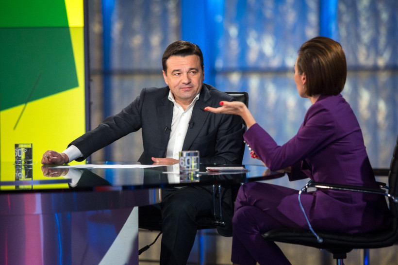 Андрей Воробьев подвел итоги октября в эфире телеканала «360»