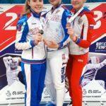 Анна Удовиченко – серебряный призёр турнира Европейского молодежного цикла по фехтованию