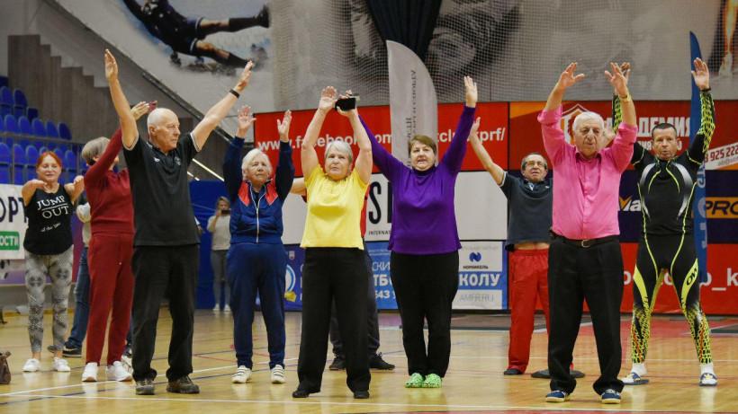 Более 250 участников старше 50 лет выполнили испытания ГТО в Подольске