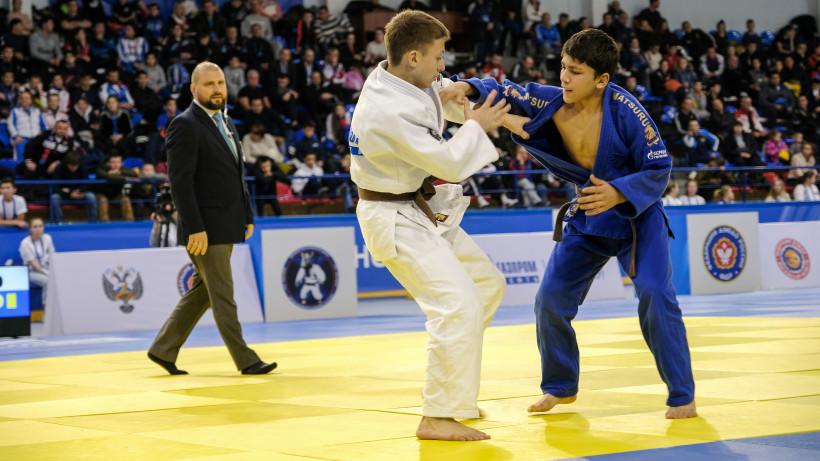 Более 800 спортсменов принимают участие в юниорском первенстве России по дзюдо в Дмитрове