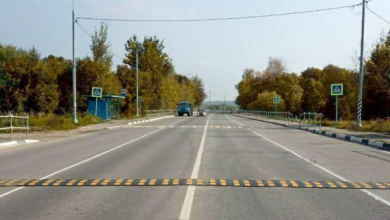 Четырнадцать искусственных неровностей установили на дорогах в Рузском округе