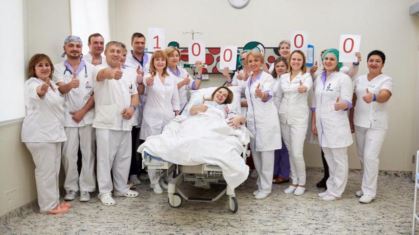 Десятитысячный ребенок родился в Наро-Фоминском перинатальном центре