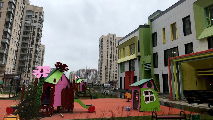 Два новых детских сада построили в Люберцах