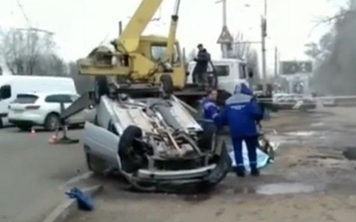 Двое жителей Пензы сварились заживо в машине, упавшей в яму с кипятком