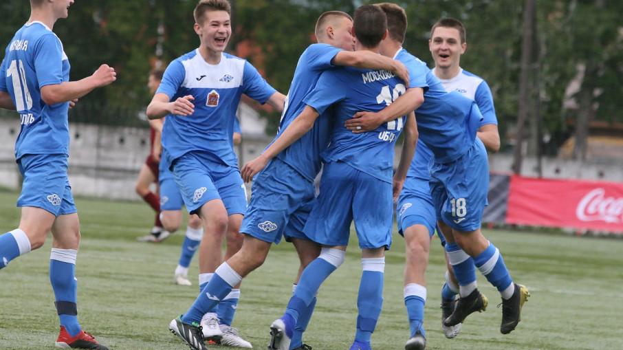 Егорьевский «Мастер-Сатурн» попал в пятерку лучших команд юношеской футбольной лиги