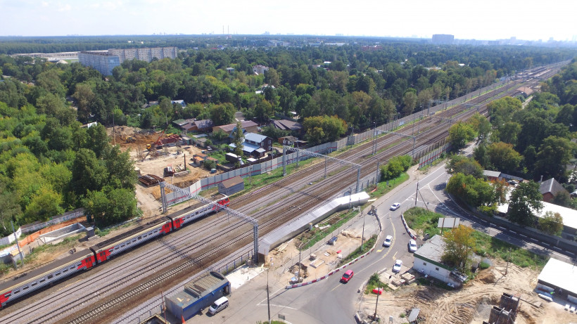 Новый путепровод появится в Мытищах в районе железнодорожной станции «Тайнинская»