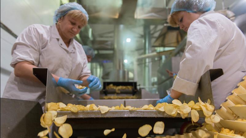 Губернатор запустил новую линию производства чипсов в Кашире