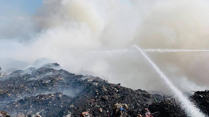 Количество возгораний на полигонах Московской области сократилось вдвое