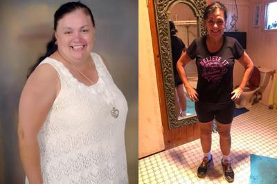 Ленивая женщина похудела на 60 килограммов