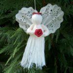 Мастер-класс «Рождественский ангелок»