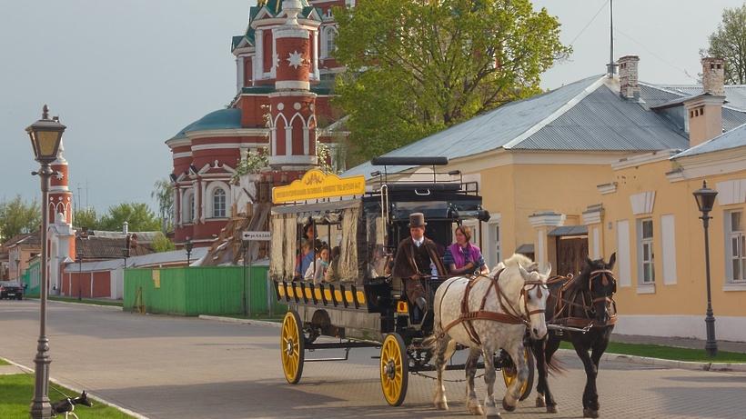 Необычное такси появилось в Коломне