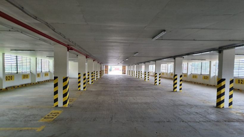Новый паркинг построили в Лобне