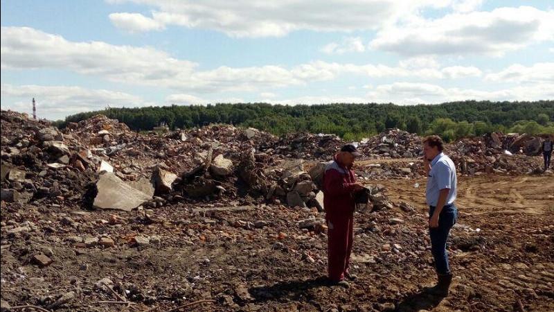 Организатор незаконной свалки в городском округе Щелково заплатит штраф 70 млн рублей