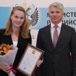 Павел Колобков вручил госнаграды тренерам, спортсменам и специалистам спортивной отрасли