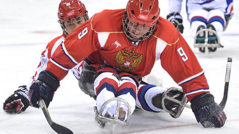 Пять подмосковных следж-хоккеистов будут участвовать в Кубке Канады