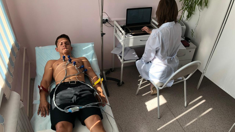 Почти 7 тыс. юных спортсменов обследовались в Центре спортивной медицины в Подмосковье