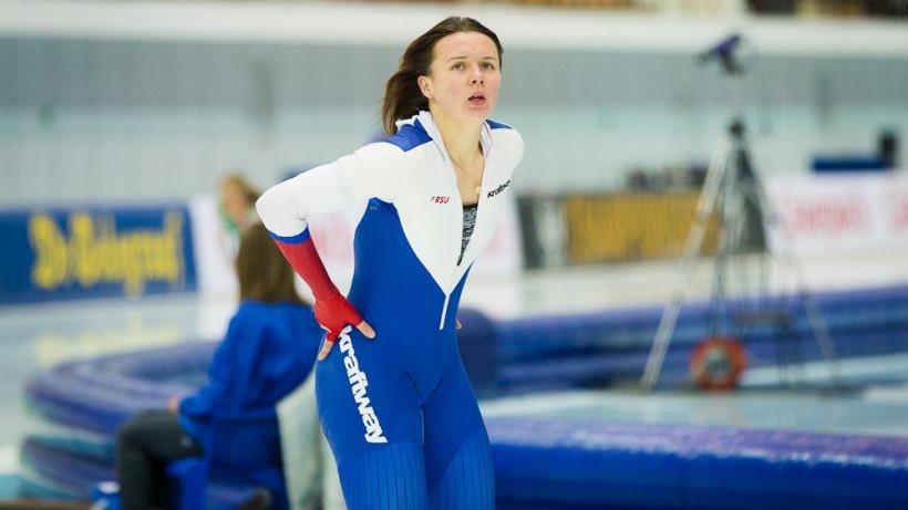 Подмосковная спортсменка выиграла спринт на II этапе Кубка мира по конькобежному спорту